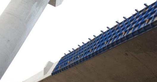博奥桥梁防撞墙模板台车