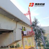 桥梁PVC排水管安装设备