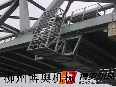 桥底检查小车技术参数
