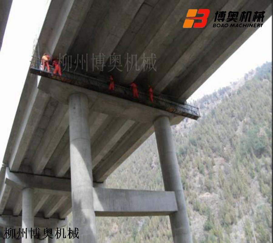 桥梁检测车安全施工平台