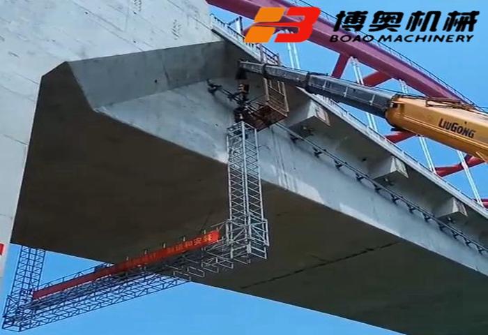 喜讯!商合杭站颖泉高铁桥检查车项目圆满完成
