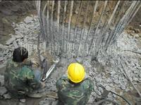 人工破混凝土桩头劈裂机